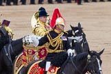 Trooping the Colour 2012: The Directors of Music of the Mounted Bands, Captain J Griffiths, The Blues and Royals.. Horse Guards Parade, Westminster, London SW1,  United Kingdom, on 16 June 2012 at 11:57, image #577