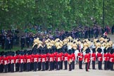 Trooping the Colour 2012: The Massed Mounted Bands are moving up the access road to The Mall, ready for the March Off.. Horse Guards Parade, Westminster, London SW1,  United Kingdom, on 16 June 2012 at 12:04, image #619
