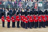 Trooping the Colour 2012: No. 6 Guard, F Company Scots Guards.. Horse Guards Parade, Westminster, London SW1,  United Kingdom, on 16 June 2012 at 12:05, image #621