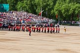 The Colonel's Review 2013: Senior Drum Major Matthew Betts, Grenadier Guards, leading the Band of the Coldstream Guards.. Horse Guards Parade, Westminster, London SW1,  United Kingdom, on 08 June 2013 at 10:15, image #54