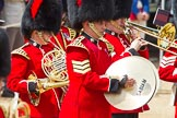 The Colonel's Review 2013: Musicians of the Band of the Coldstream Guards.. Horse Guards Parade, Westminster, London SW1,  United Kingdom, on 08 June 2013 at 10:15, image #57