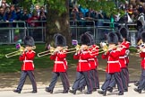 The Colonel's Review 2013: Musicians of the Band of the Irish Guards.. Horse Guards Parade, Westminster, London SW1,  United Kingdom, on 08 June 2013 at 10:15, image #59