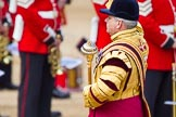 The Colonel's Review 2013: Drum Major Stephen Staite, Grenadier Guards.. Horse Guards Parade, Westminster, London SW1,  United Kingdom, on 08 June 2013 at 10:26, image #99