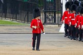 The Colonel's Review 2013: Lieutenant H C Cartwright and No. 4 Guard, Nijmegen Company Grenadier Guards.. Horse Guards Parade, Westminster, London SW1,  United Kingdom, on 08 June 2013 at 10:27, image #105