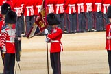 The Colonel's Review 2013: The Colour has been uncased. A detailed photographic record of the uncasing can be found in The Major Generals Review and The Colonels Review.. Horse Guards Parade, Westminster, London SW1,  United Kingdom, on 08 June 2013 at 10:33, image #149