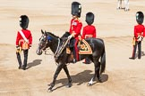 The Colonel's Review 2013: The Major of the Parade, Major H G C Bettinson, Welsh Guards.. Horse Guards Parade, Westminster, London SW1,  United Kingdom, on 08 June 2013 at 10:37, image #174