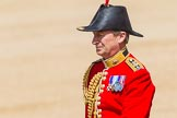 The Colonel's Review 2013: The Equerry in Waiting to Her Majesty, Lieutenant Colonel Alexander Matheson of Matheson, younger, during the Inspection of the Line.. Horse Guards Parade, Westminster, London SW1,  United Kingdom, on 08 June 2013 at 11:01, image #319