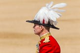 The Colonel's Review 2013: Major General Commanding the Household Division and General Officer Commanding London District, Major George Norton, during the Inspection of the Line.. Horse Guards Parade, Westminster, London SW1,  United Kingdom, on 08 June 2013 at 11:02, image #325