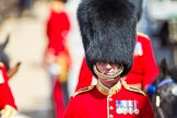 The Colonel's Review 2013: Foot Guards Regimental Adjutant Major G V A Baker, Grenadier Guards, during the Inspection of the Line.. Horse Guards Parade, Westminster, London SW1,  United Kingdom, on 08 June 2013 at 11:02, image #329