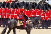The Colonel's Review 2013: HRH The Prince of Wales, Colonel Welsh Guards saluting the Colour during the Inspection of the Line.. Horse Guards Parade, Westminster, London SW1,  United Kingdom, on 08 June 2013 at 11:03, image #355