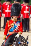 The Colonel's Review 2013: HRH The Prince of Wales, Colonel Welsh  Guards after the Inspection of the Line.. Horse Guards Parade, Westminster, London SW1,  United Kingdom, on 08 June 2013 at 11:06, image #389