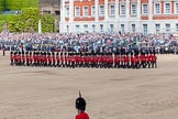 The Colonel's Review 2013: The Escort Tto the Colour performing a 90-degree-turn.. Horse Guards Parade, Westminster, London SW1,  United Kingdom, on 08 June 2013 at 11:22, image #546