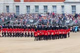 The Colonel's Review 2013: The Escort Tto the Colour performing a 90-degree-turn.. Horse Guards Parade, Westminster, London SW1,  United Kingdom, on 08 June 2013 at 11:22, image #548