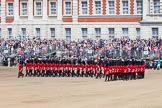The Colonel's Review 2013: The Escort Tto the Colour performing a 90-degree-turn.. Horse Guards Parade, Westminster, London SW1,  United Kingdom, on 08 June 2013 at 11:22, image #549