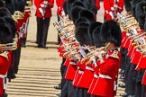 The Colonel's Review 2013: Tthe Massed Bands as they are playing the Grenadiers Slow March.. Horse Guards Parade, Westminster, London SW1,  United Kingdom, on 08 June 2013 at 11:23, image #558