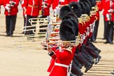 The Colonel's Review 2013: Tthe Massed Bands as they are playing the Grenadiers Slow March.. Horse Guards Parade, Westminster, London SW1,  United Kingdom, on 08 June 2013 at 11:23, image #559