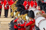 The Colonel's Review 2013: Tthe Massed Bands as they are playing the Grenadiers Slow March.. Horse Guards Parade, Westminster, London SW1,  United Kingdom, on 08 June 2013 at 11:23, image #561