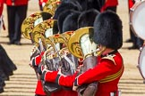 The Colonel's Review 2013: Tthe Massed Bands as they are playing the Grenadiers Slow March.. Horse Guards Parade, Westminster, London SW1,  United Kingdom, on 08 June 2013 at 11:23, image #563