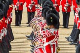 The Colonel's Review 2013: Tthe Massed Bands as they are playing the Grenadiers Slow March.. Horse Guards Parade, Westminster, London SW1,  United Kingdom, on 08 June 2013 at 11:24, image #567