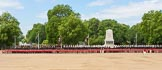 The Colonel's Review 2013: The Field Officer in Brigade Waiting, Lieutenant Colonel Dino Bossi, Welsh Guards gives the command to form divisions.. Horse Guards Parade, Westminster, London SW1,  United Kingdom, on 08 June 2013 at 11:27, image #593