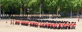 The Colonel's Review 2013: The Massed Bands, led by the five Drum Majors, during the March Past.. Horse Guards Parade, Westminster, London SW1,  United Kingdom, on 08 June 2013 at 11:32, image #617