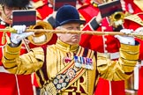 The Colonel's Review 2013: A close-up view of Drum Major Stephen Staite, Grenadier Guards.. Horse Guards Parade, Westminster, London SW1,  United Kingdom, on 08 June 2013 at 11:36, image #650