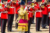 The Colonel's Review 2013: Drum Major Neill Lawman, Welsh Guards.. Horse Guards Parade, Westminster, London SW1,  United Kingdom, on 08 June 2013 at 11:37, image #655