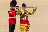 The Colonel's Review 2013: Drum Major Tony Taylor, Coldstream Guards,. Horse Guards Parade, Westminster, London SW1,  United Kingdom, on 08 June 2013 at 11:37, image #657