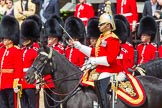 The Colonel's Review 2013: The Director of Music of the Household Cavalry, Major Paul Wilman, The Life Guards.. Horse Guards Parade, Westminster, London SW1,  United Kingdom, on 08 June 2013 at 11:50, image #722