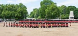 The Colonel's Review 2013: The Massed Band march away to leave room for  the Mounted Bands.. Horse Guards Parade, Westminster, London SW1,  United Kingdom, on 08 June 2013 at 11:49, image #715
