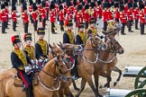 The Colonel's Review 2013: The Ride Past - the King's Troop Royal Horse Artillery.. Horse Guards Parade, Westminster, London SW1,  United Kingdom, on 08 June 2013 at 11:57, image #767