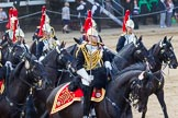 The Colonel's Review 2013: The Third and Forth Divisions of the Sovereign's Escort, The Blues and Royals, during the Ride Past.. Horse Guards Parade, Westminster, London SW1,  United Kingdom, on 08 June 2013 at 11:57, image #779