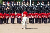 The Colonel's Review 2013: The six guards change formation, from a long, L-shaped line of guardsmen to six divisions.. Horse Guards Parade, Westminster, London SW1,  United Kingdom, on 08 June 2013 at 12:03, image #810