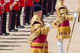 The Colonel's Review 2013: The Drum Majors during the March Off.. Horse Guards Parade, Westminster, London SW1,  United Kingdom, on 08 June 2013 at 12:06, image #820