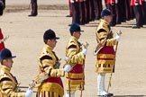 The Colonel's Review 2013: The Drum Majors during the March Off.. Horse Guards Parade, Westminster, London SW1,  United Kingdom, on 08 June 2013 at 12:06, image #822