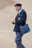 Major General's Review 2013: A veteran arriving at Horse Guards Parade for the Major General's Review.. Horse Guards Parade, Westminster, London SW1,  United Kingdom, on 01 June 2013 at 09:33, image #10