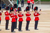 Major General's Review 2013: Musicians of the Band of the Coldstream Guards.. Horse Guards Parade, Westminster, London SW1,  United Kingdom, on 01 June 2013 at 10:15, image #51
