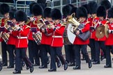 Major General's Review 2013: Musicians of the Band of the Irish Guards.. Horse Guards Parade, Westminster, London SW1,  United Kingdom, on 01 June 2013 at 10:15, image #55