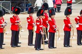 Major General's Review 2013: Musicians of the Band of the Coldstream Guards.. Horse Guards Parade, Westminster, London SW1,  United Kingdom, on 01 June 2013 at 10:16, image #56