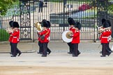 Major General's Review 2013: Musicians of the Band of the Irish Guards.. Horse Guards Parade, Westminster, London SW1,  United Kingdom, on 01 June 2013 at 10:16, image #61