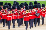 Major General's Review 2013: Musicians of the Band of the Irish Guards.. Horse Guards Parade, Westminster, London SW1,  United Kingdom, on 01 June 2013 at 10:17, image #63