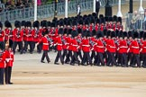 Major General's Review 2013: No. 6 Guard, No. 7 Company Coldstream Guards, is immediately followed by No. 5 Guard, 7 Company Scots Guards.. Horse Guards Parade, Westminster, London SW1,  United Kingdom, on 01 June 2013 at 10:23, image #75