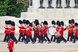 Major General's Review 2013: Musicians of the Band of the Scots Guards marching on Horse Guards Road.. Horse Guards Parade, Westminster, London SW1,  United Kingdom, on 01 June 2013 at 10:24, image #79