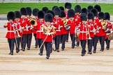 Major General's Review 2013: Drum Major Stephen Staite, Grenadier Guards, leading the Band of the Scots Guards onto Horse Guards Parade.. Horse Guards Parade, Westminster, London SW1,  United Kingdom, on 01 June 2013 at 10:24, image #82