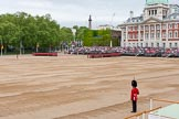 Major General's Review 2013: No. 5 Guard,  Guard, 7 Company Scots Guards., and No. 6 Guard, No. 7 Company Coldstream Guards in position on Horse Guards Parade.. Horse Guards Parade, Westminster, London SW1,  United Kingdom, on 01 June 2013 at 10:24, image #81