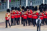 Major General's Review 2013: Drum Major D P Thomas, Grenadier Guards, leading the Band of the Grenadier Guards onto Horse Guards Parade.. Horse Guards Parade, Westminster, London SW1,  United Kingdom, on 01 June 2013 at 10:26, image #89