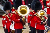 Major General's Review 2013: Musicians of the Band of the Scots Guards.. Horse Guards Parade, Westminster, London SW1,  United Kingdom, on 01 June 2013 at 10:26, image #92