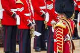 Major General's Review 2013: In focus Drum Major Stephen Staite, Grenadier Guards, leading the Band of the Scots Guards.. Horse Guards Parade, Westminster, London SW1,  United Kingdom, on 01 June 2013 at 10:26, image #93