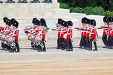 Major General's Review 2013: Musicians of the Band of the Grenadier Guards and Drummers of the Band of the Grenadier Guards.. Horse Guards Parade, Westminster, London SW1,  United Kingdom, on 01 June 2013 at 10:27, image #95