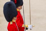 Major General's Review 2013: Captain P W Foster, No. 5 Guard, F Company Scots Guards, and Captain C E B Starkey, No. 6 Guard, No. 7 Company Coldstream Guards.. Horse Guards Parade, Westminster, London SW1,  United Kingdom, on 01 June 2013 at 10:28, image #105